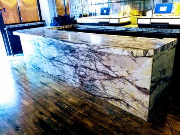Magnifico epoxy countertop